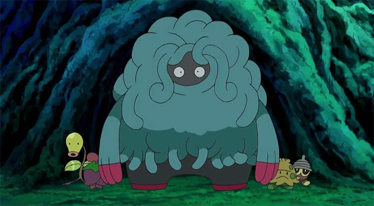 Tangrowth in the anime