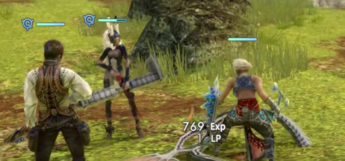 Fran, Balthier & Vaan battle in Giza Plains