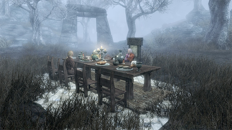 Screenshot: The Mind of Madness Skyrim Quest
