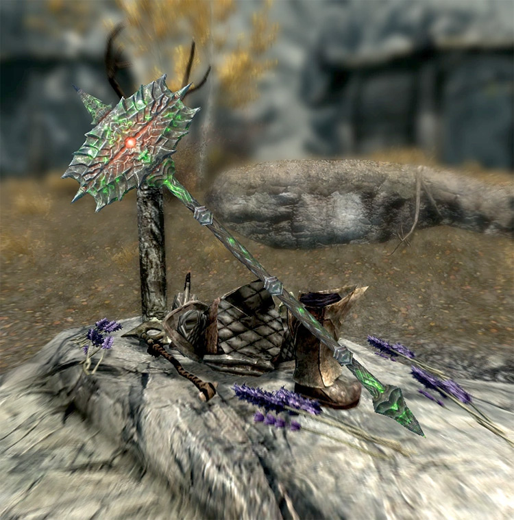 Screenshot: The Cursed Tribe Skyrim Quest