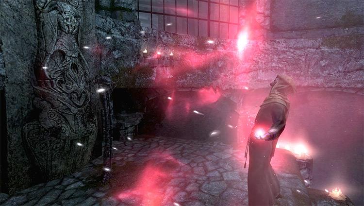 Screenshot: Waking Nightmare Skyrim Quest