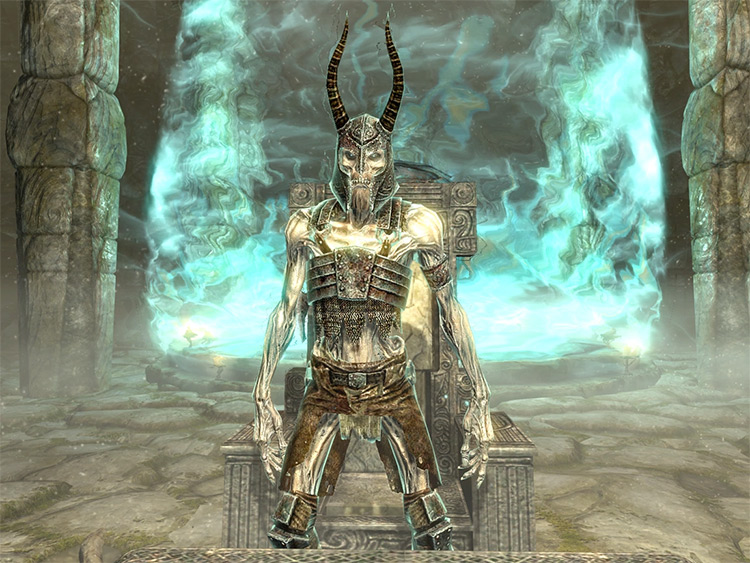 Screenshot: Forbidden Legend Skyrim Quest