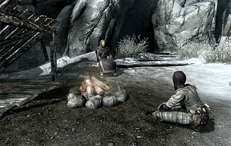 Screenshot: Coming of Age Skyrim Quest
