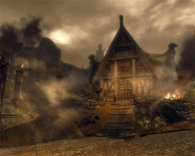 Screenshot: Battle for Whiterun Skyrim Quest