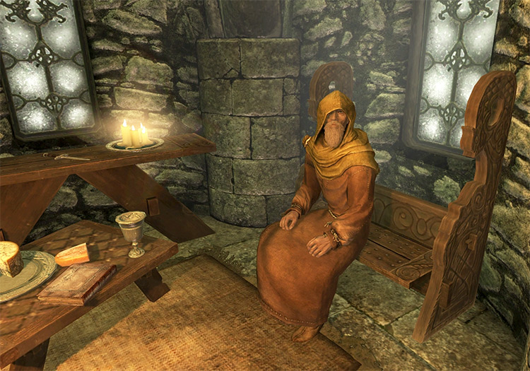 Screenshot: The Wolf Queen Awakened Skyrim Quest