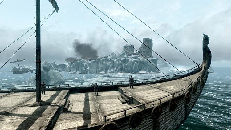 Screenshot: Rise in the East Skyrim Quest