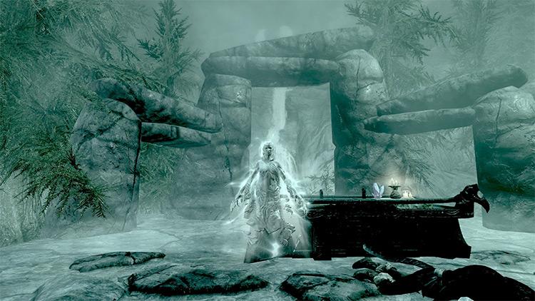 The Pale Lady Skyrim screenshot