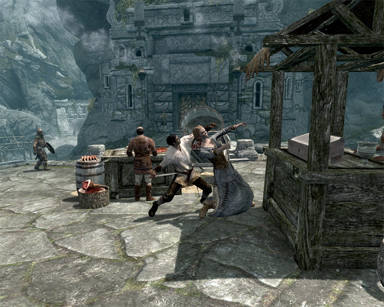 The Forsworn Conspiracy Skyrim Quest screenshot