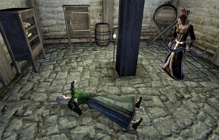 Whodunit? Elder Scrolls IV Oblivion Quest