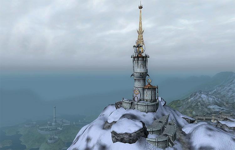 Frostcrag Spire Elder Scrolls Oblivion Quest