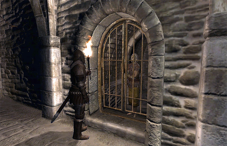 Breaking Out of Any Jail Elder Scrolls IV Oblivion Quest