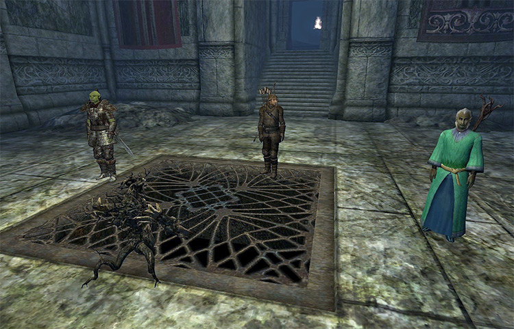 Baiting the Trap Elder Scrolls Oblivion Quest
