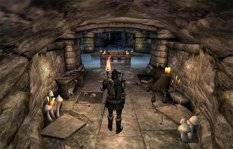Where Spirits Have Lease Elder Scrolls IV Oblivion Quest