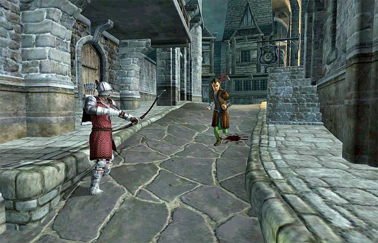 Paranoia Elder TES4 Oblivion Quest