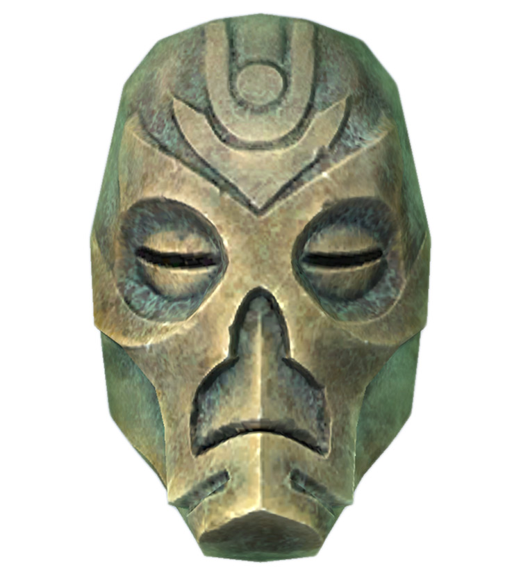Krosis Mask in Skyrim