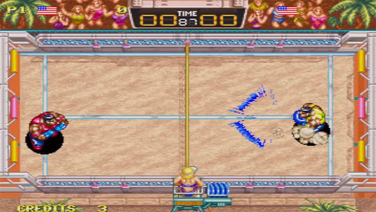 Windjammers Multiplayer Screenshot