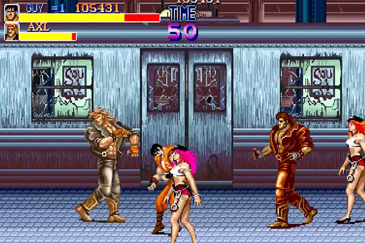 Capcom Beat 'Em Up Bundle PS4 Multiplayer Game Screenshot