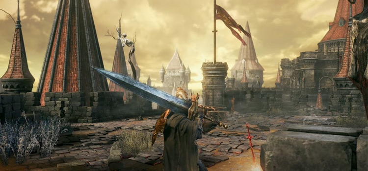 Dark Souls 3 HD screenshot with Color Clarity mod