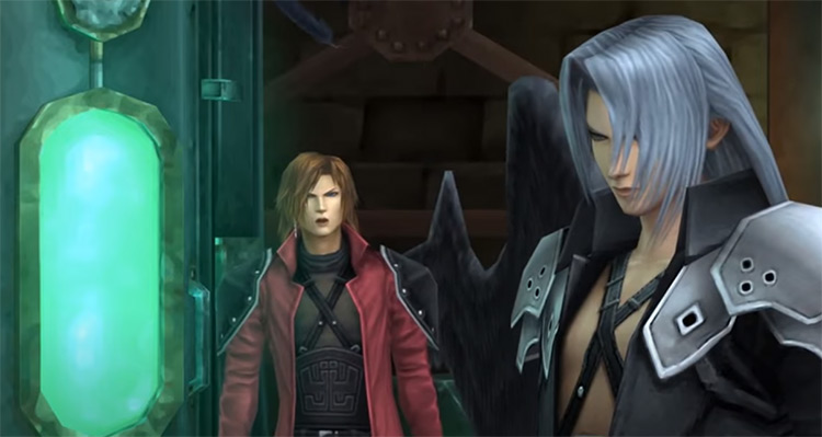 Crisis Core FF7 PSP gameplay