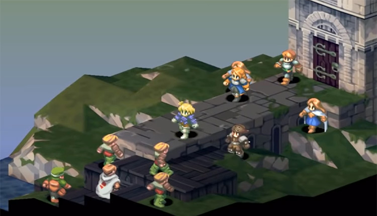 Final Fantasy Tactics: War of the Lions PSP screenshot