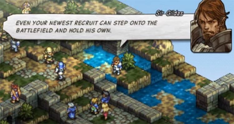 Tactics Ogre: Let Us Cling Together on PSP