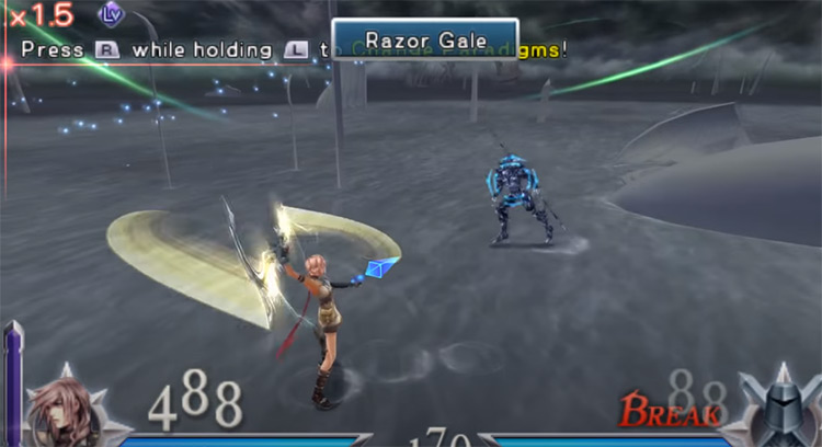 Dissidia 012 Final Fantasy PSP Screenshot
