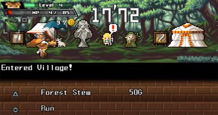 Half-Minute Hero PSP Screenshot