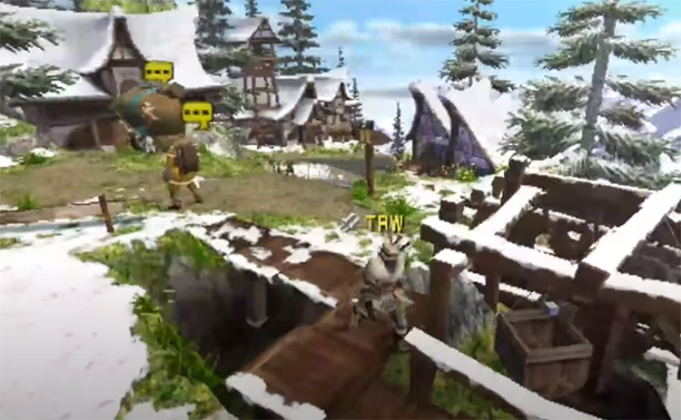 Monster Hunter Freedom Unite PSP Screenshot