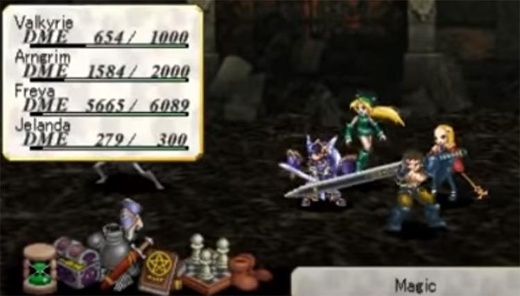 Valkyrie Profile: Lenneth PSP Screenshot