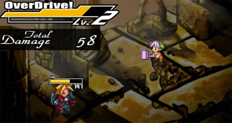 Riviera: The Promised Land PSP Gameplay