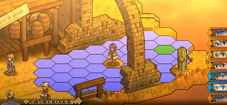 Wild Arms XF PSP Screenshot