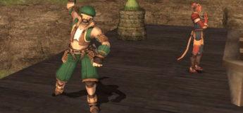 FFXI Thief Pose / HD Screenshot