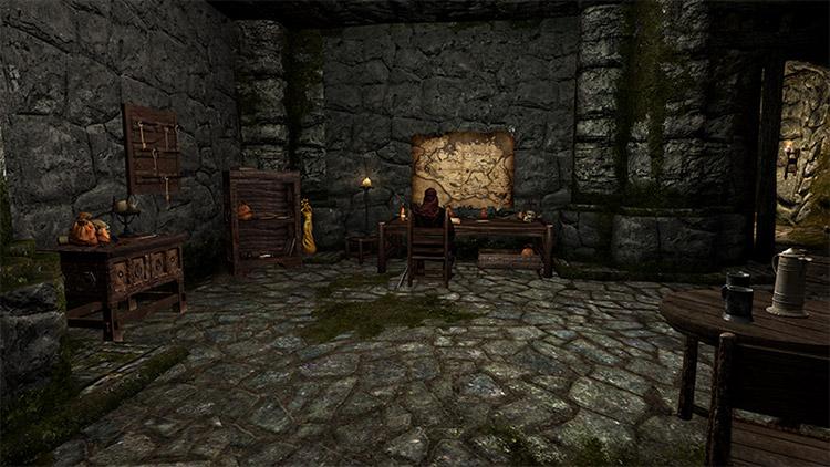 Dawnstar Sanctuary Dark Brotherhood Mod for Skyrim