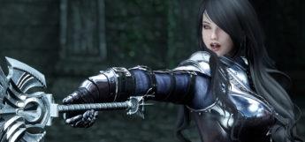 Female Dark Knight Armor Mod in Skyrim SE