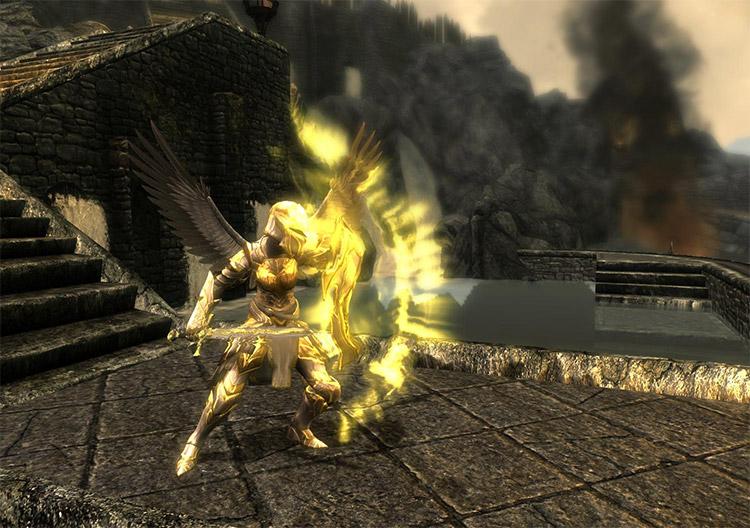Divine Aegis Armor Mod for Skyrim