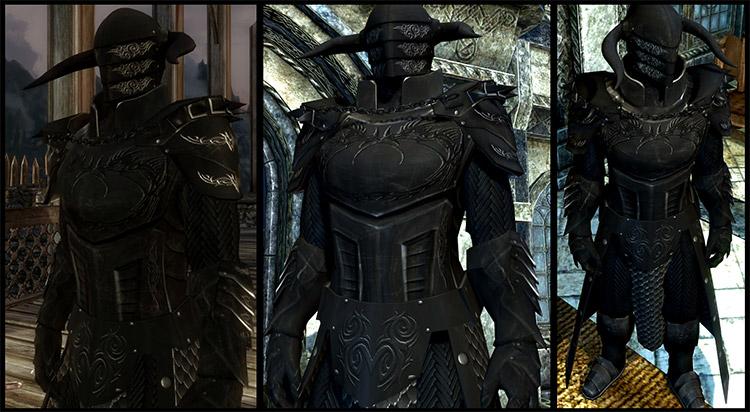 Black Overlord Armor / Skyrim Mod