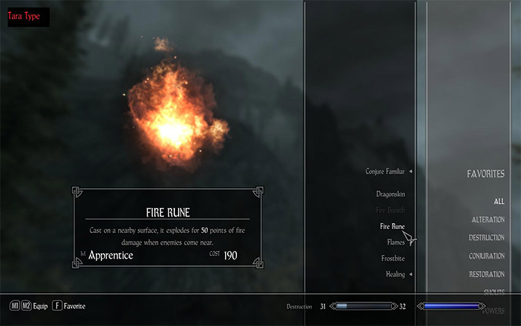 Main Font Replacement Mod for Skyrim