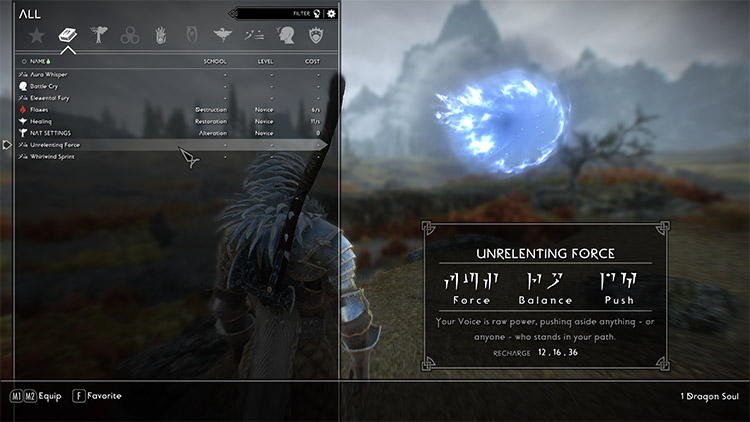 God of War 2018 Font Replacement in Skyrim