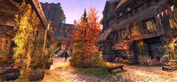Surreal Lighting / Modded town in Skyrim