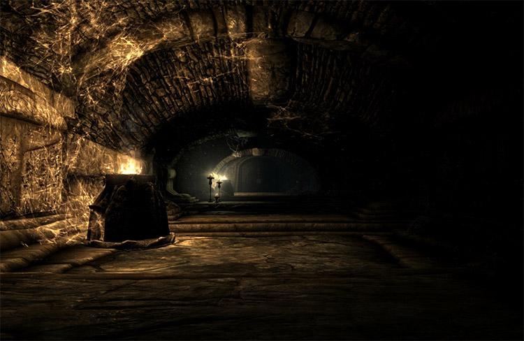 Darkness Lighting Mod for Skyrim