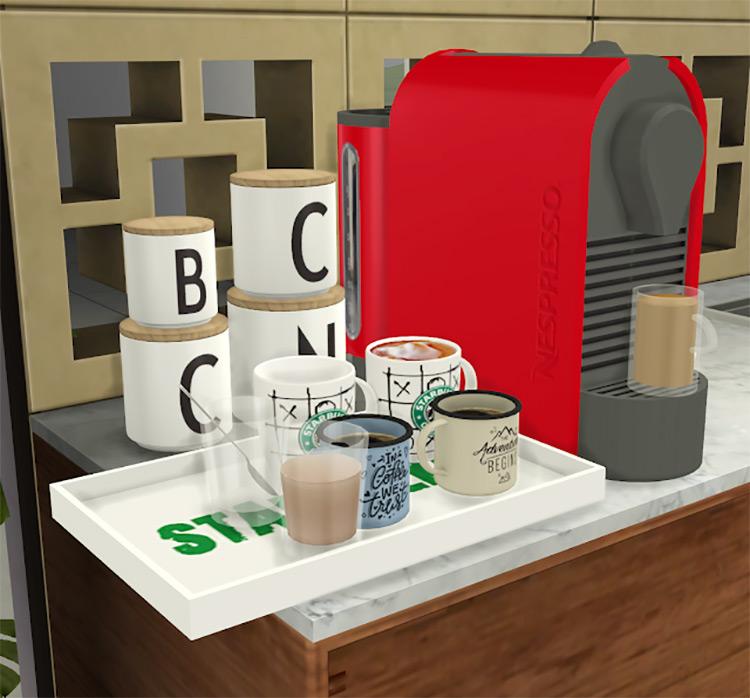Nespresso Coffee Maker / TS4 CC