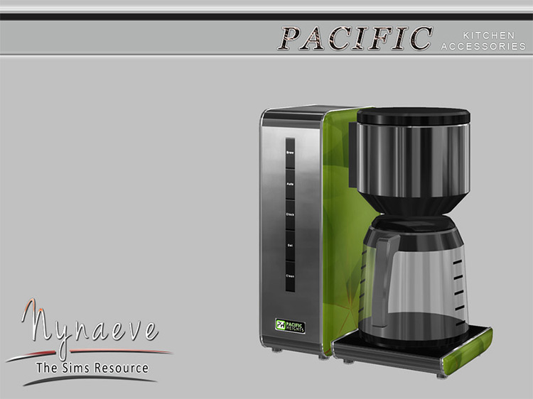 Pacific Heights Coffee Maker for Sims 4