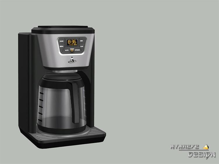 Altara Coffee Maker / Sims 4 CC