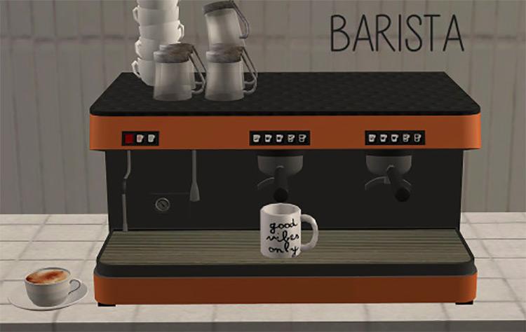 Espresso Machines / Sims 4 CC