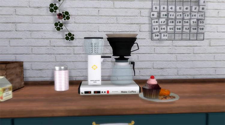 Functional Coffee Machine / TS4 CC