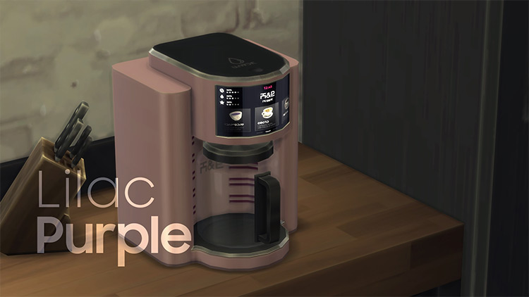 H&B PROBar Coffee Maker for Sims 4