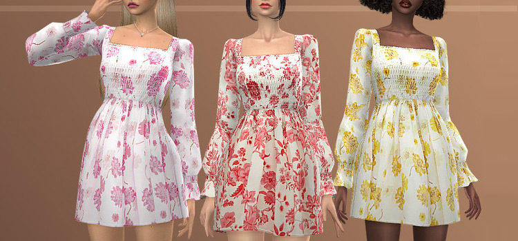 Sims 4 Casual Dress CC To Download (All Free)