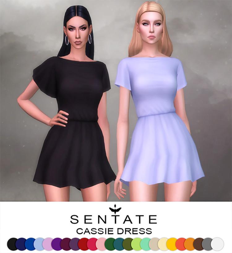 Cassie Dress / Sims 4 CC