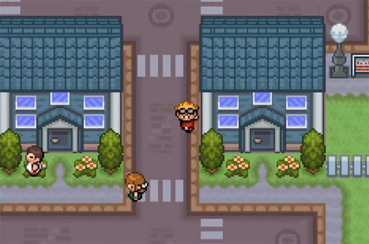 Pokémon Blazed Glazed Oceanview City Screenshot