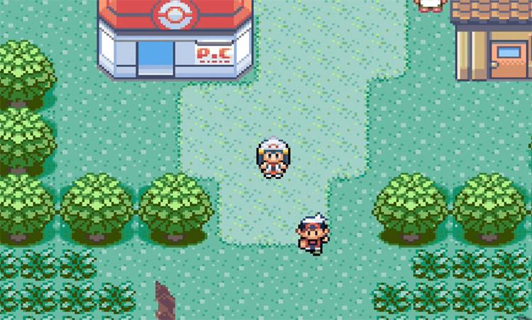 Pokémon Emerald Enhanced Hack Screenshot